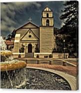 Mission San Buenaventura Canvas Print