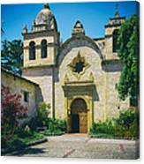 Mission San Carlos - Carmel California Canvas Print