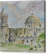 Mission San Jose Canvas Print