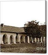 Mission San Juan Bautista San Benito County Circa 1905 Canvas Print