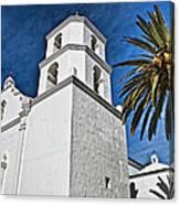 Mission San Luis Rey - California Canvas Print