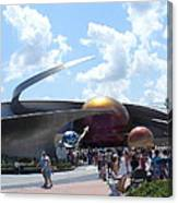 Mission Space Pavilion Canvas Print