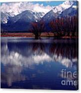 Mission Valley Montana Canvas Print