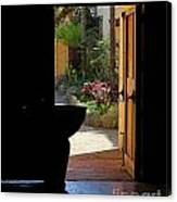 Missions Side Door Canvas Print