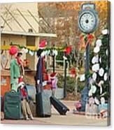 Mississippi Christmas 20 Canvas Print