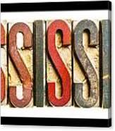 Mississippi Canvas Print