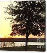 Mississippi Sunset 13 Canvas Print