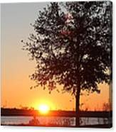 Mississippi Sunset 6 Canvas Print