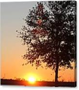 Mississippi Sunset 7 Canvas Print