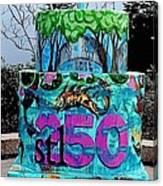 Missouri Botanical Garden Stl250 Birthday Cake Canvas Print