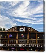 Missouri Hick Bbq Canvas Print