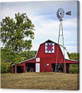Missouri Star Quilt Barn Canvas Print