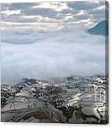 Mist And Cloud Canvas Print