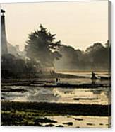 Mist On The Morning Tide Canvas Print
