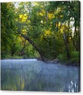 Mist On The Wissahickon Canvas Print