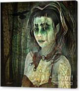Mistress Of The Dark Woods Canvas Print