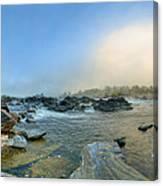 Mists Of Great Falls Canvas Print
