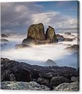 Mists Of The Sea Canvas Print