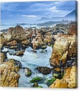 Misty Cliffs Iv Canvas Print