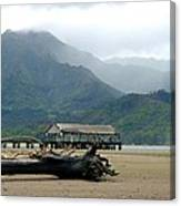 Misty Morning Hanalei Canvas Print
