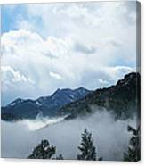 Misty Mountain Colorado Canvas Print
