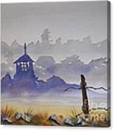 Misty Watercolors Canvas Print