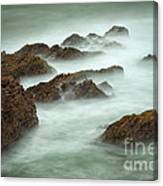 Misty Waves Canvas Print