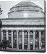 Mit Building 10 And Great Dome II Canvas Print