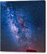Mitchell Butte Milky Way Canvas Print