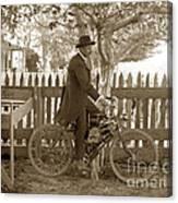 Mitchell Motorcycle Circa 1907 Canvas Print