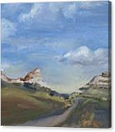 Mitchell Pass Western Nebraska Canvas Print