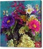Mixed Bouquet Canvas Print