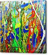 Mixed Up Canvas Print