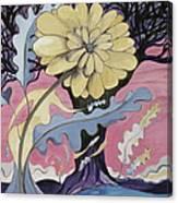 Miz Fleur Canvas Print