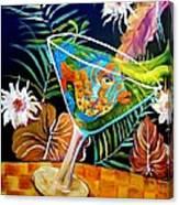 Miz Martini Canvas Print