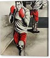 Mma Training Complete Canvas Print