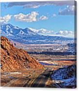 Moab Fault Medium Panorama Canvas Print