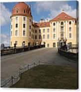 Moated Castle Moritzburg Canvas Print