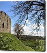 Moated Castle Canvas Print