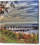 Mobile Bay Sunset Canvas Print