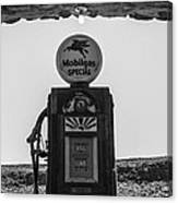 Mobilgas Pumps Canvas Print