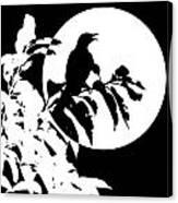 Mockingbird Moon Canvas Print
