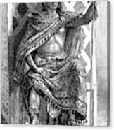 Moctezuma II, Ninth Tlatoani, Aztec Canvas Print