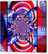 Mod 163 - Freedom Abstract Canvas Print