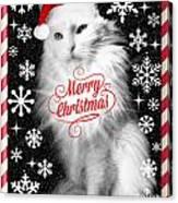 Mod Cards - I'm A Star Baby I'm A Christmas Star - Merry Christmas Canvas Print