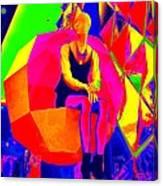Mod Muse Canvas Print