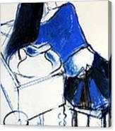 Model #4 - Figure Series Canvas Print