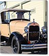 Model A Ford Truck Canvas Print