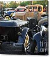 Model A With Trailor Canvas Print