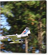 Model Jet Canvas Print